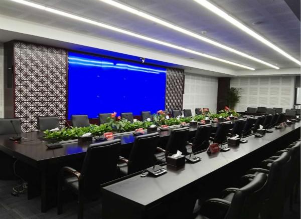 西安葛洲坝办公大楼会议室